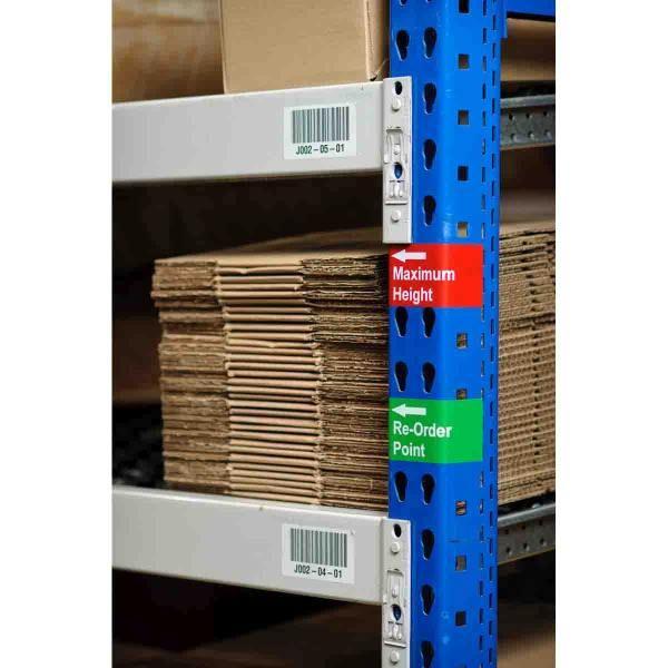 Herpositioneerbare labels uit vinylweefsel voor BBP33/i3300-printers