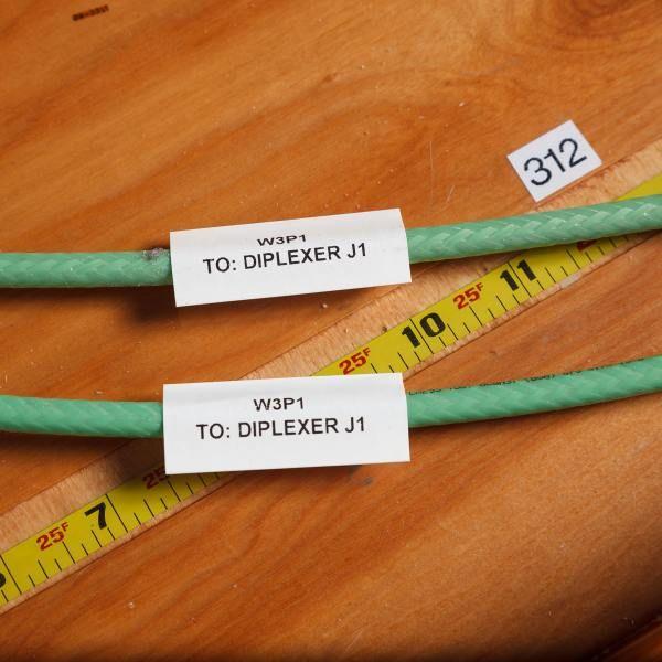 Krimpkousen voor draadmarkering voor commercieel gebruik