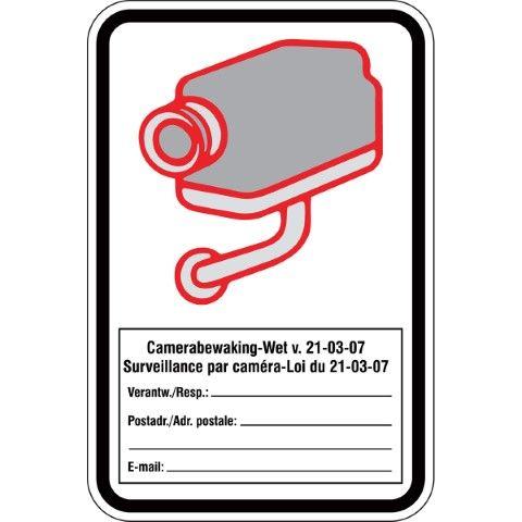 Camerabewaking / Surveillance par caméra - Nederlands / Français - Camerabewaking-Wet v. 21-03-07 Surveillance par caméra-Loi du 21-03-07...