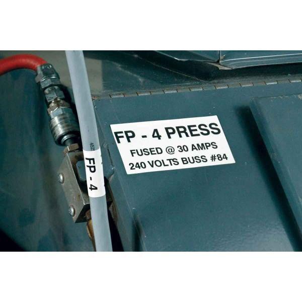 Vlamvertragende wikkellabels voor BMP71 labelprinter.