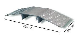 KABELDREMPEL STAAL TRAANPLAATMOTIEF 350X800X90MM - GESCHIKT TOT 40T