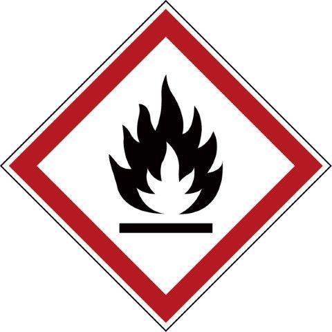 GHS Symbool - GHS02 - Brandgevaarlijk